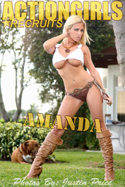Action Girls Recruit: Amanda - Pittbull