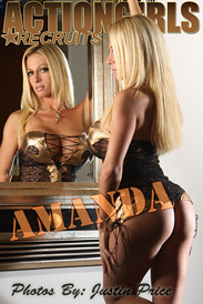 Scotty JX Website Actiongirls: Amanda - Gold Black