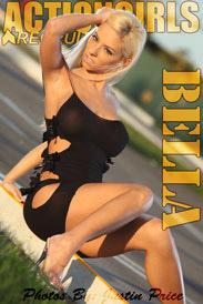 ActionGirls Recruits: Bella - Black Dress