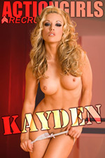 Actiongirls Recruits glamour model: Kayden - White Nighty