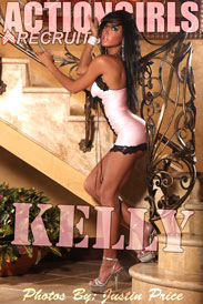 Actiongirls Recruits: Kelly - Pink Nighty