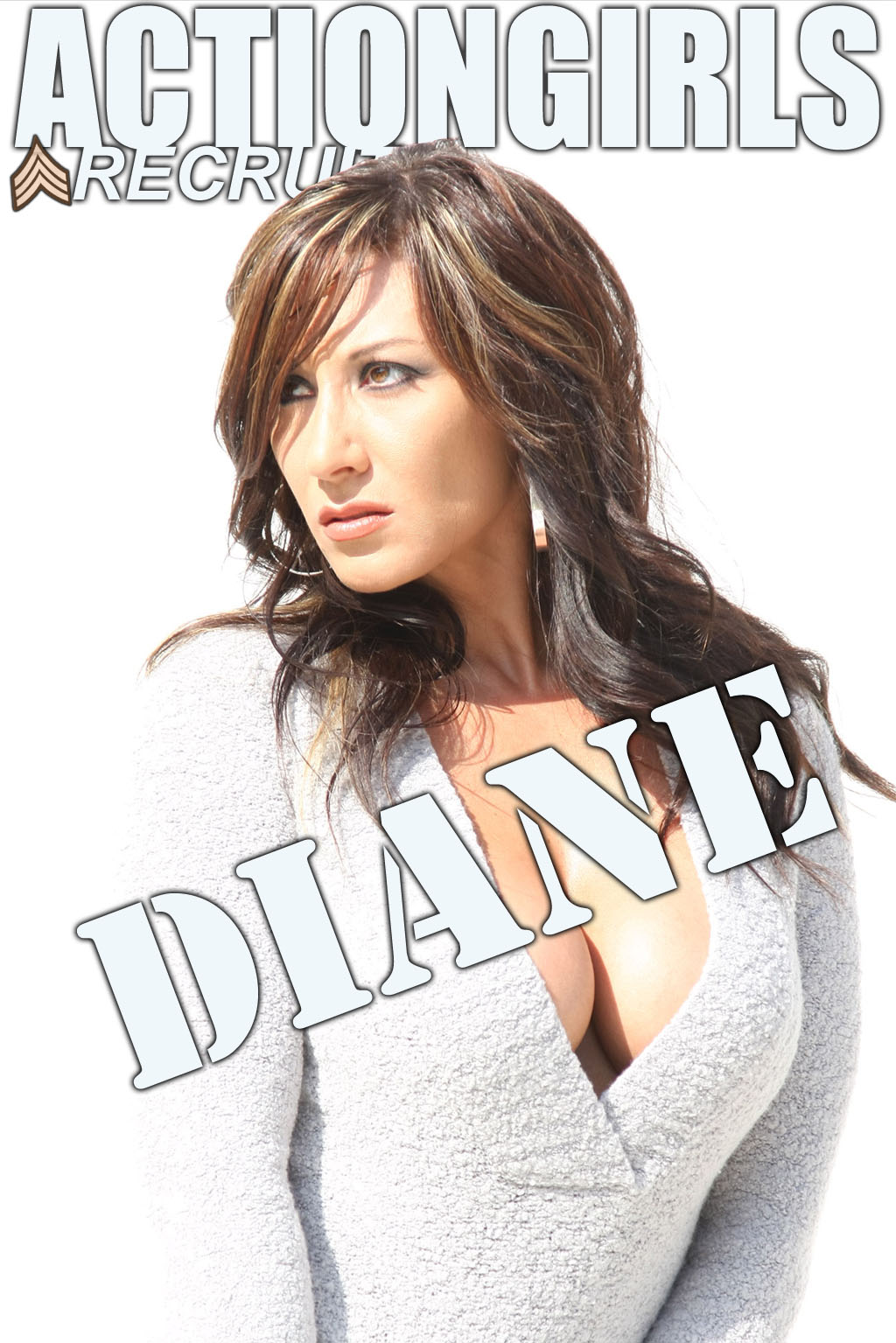Diane: White Shirt