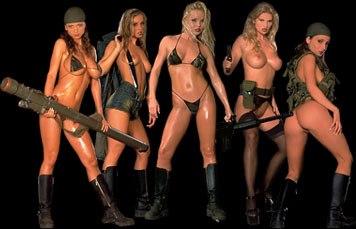 Actiongirls.com Huvudrollen Sylvia Saint , Veronica Zemanova , Silve Thomas Amy Easton & Martini Fox!