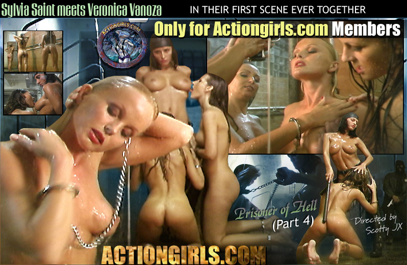 Sylvia saint action girls